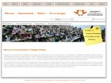 Department of Religion Studies - University of Johannesburg
