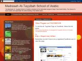 Madrasah At-Tayyibah School of Arabic