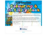 Alif Baa Taa Colouring and Activity Book